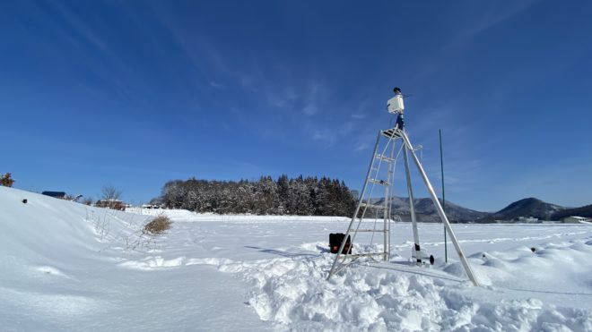 信濃町IoT実装プロジェクト<br> /雪下野菜の環境センシング(4)