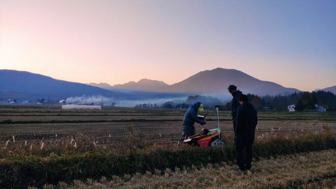 信濃町IoT実装プロジェクト<br> /自動畦畔草刈機 開発(2)