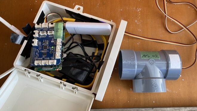 信濃町IoT実装プロジェクト<br> /雪中野菜の環境センシング(7)